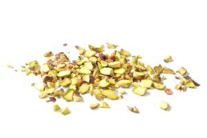 Picamos los pistachos a cuchillo