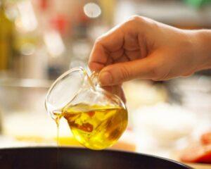 añadimos aceite de oliva