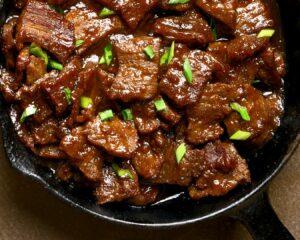 Freímos cualquier otra carne que tengamos a mano