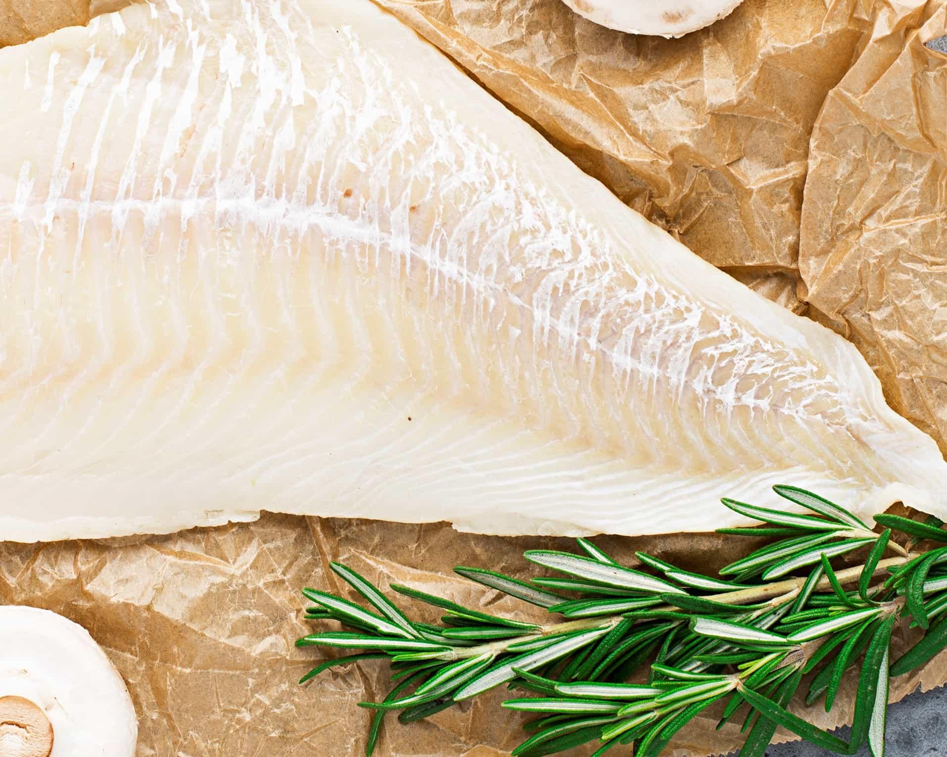 lomo de pescado limpio