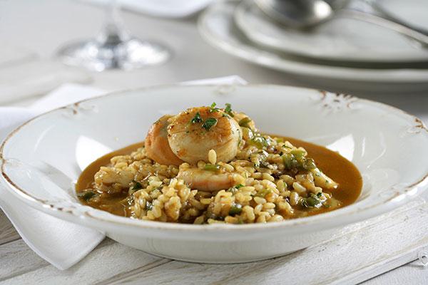 Aprende a cocinar una receta tradicional: arroz caldoso con calamares y gambas
