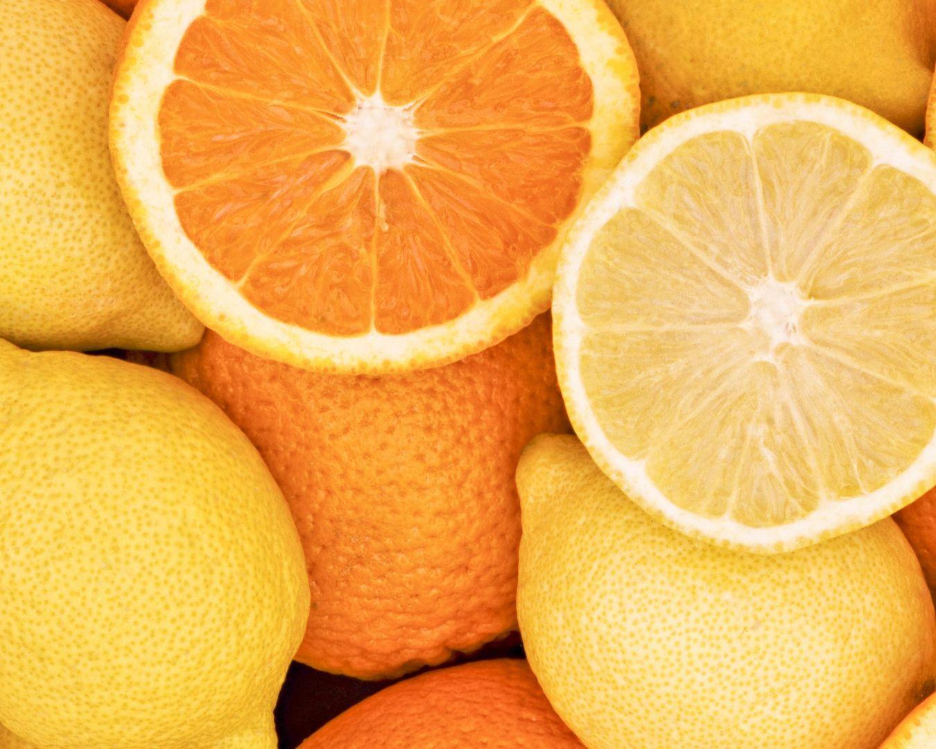 cítricos, naranjas y llimones