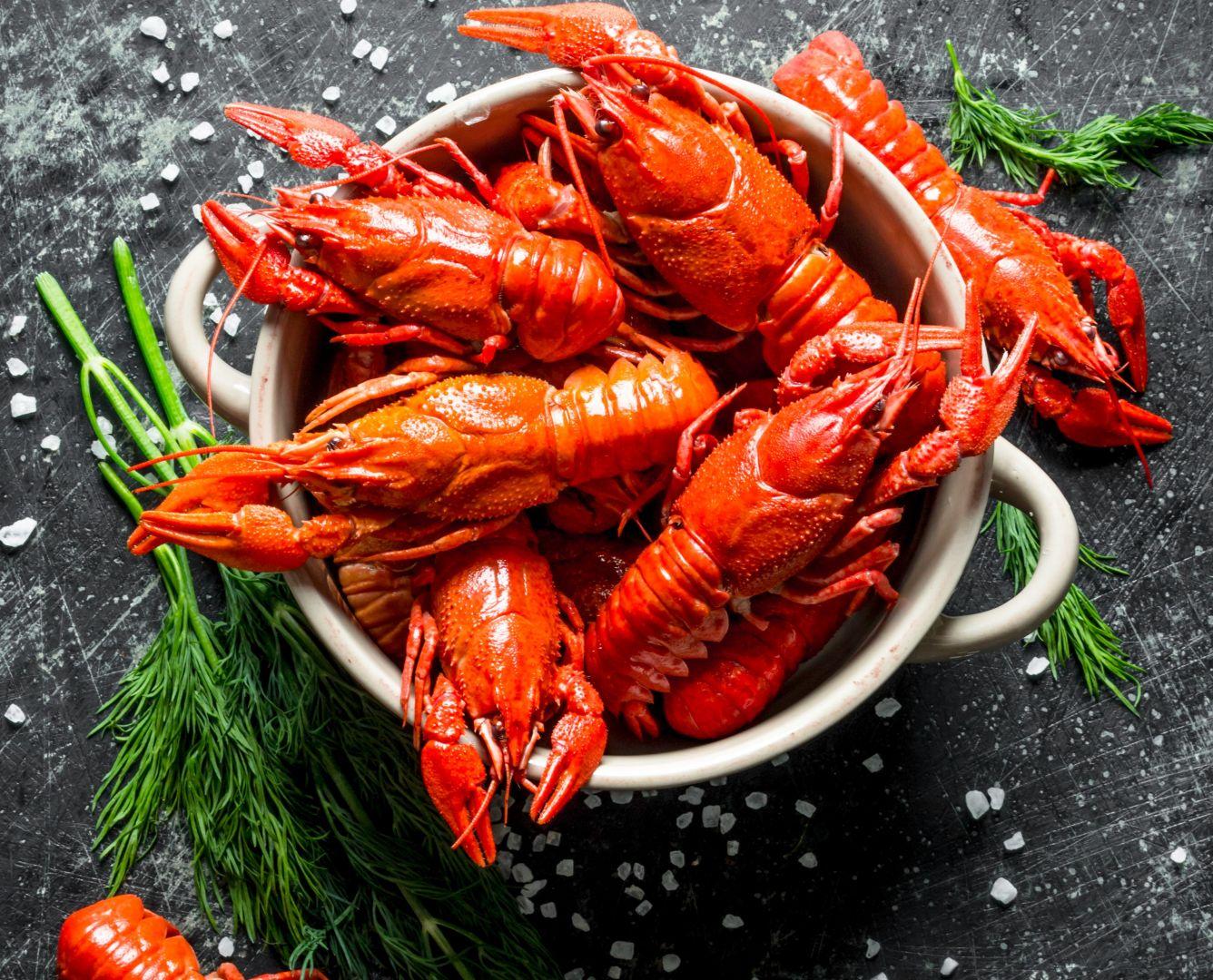 Añadimos los cangrejos bien limpios