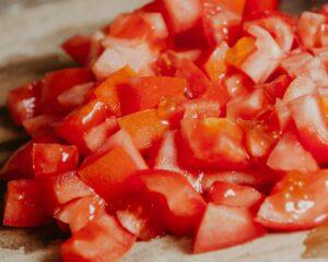 Picamos los tomates