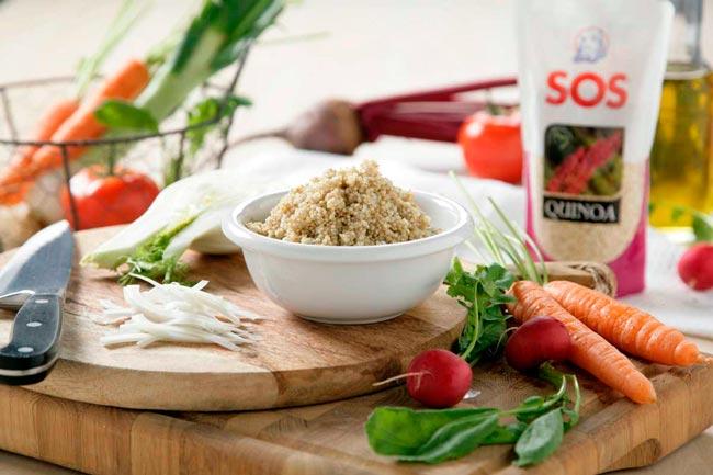 SOS quinoa, receta fácil para cuidarte