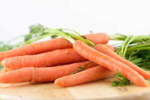 zanahorias para cortar