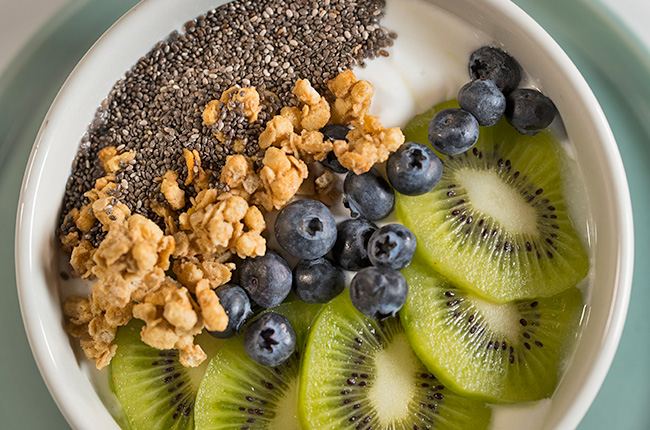 yogur con semillas chía SOS Vidasania