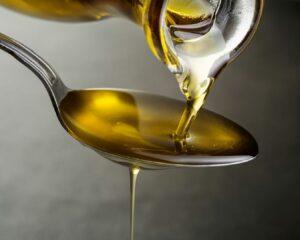cucharada de aceite para aliño