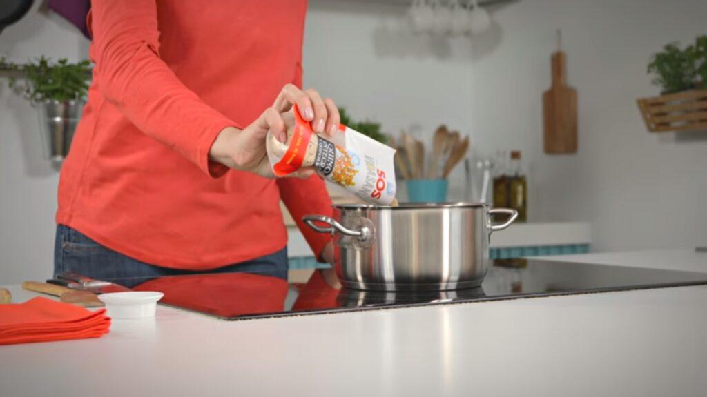 Añadimos la quinoa SOS Vidasania