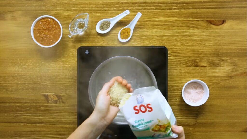 Cocemos el arroz SOS