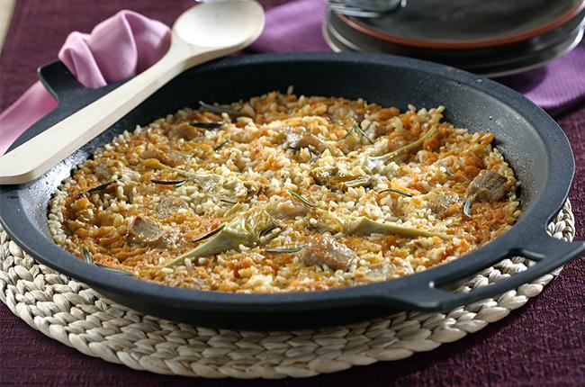 platos tradicionales con arroz SOS