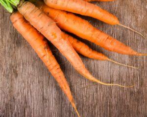 cortamos las zanahorias