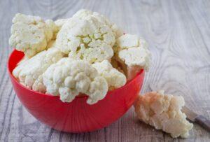 Cortamos la coliflor en arbolitos