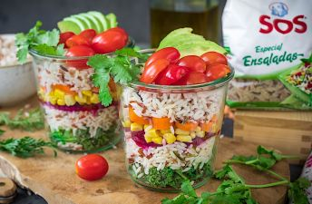 Ensalada de arroz con verduritas by Loleta