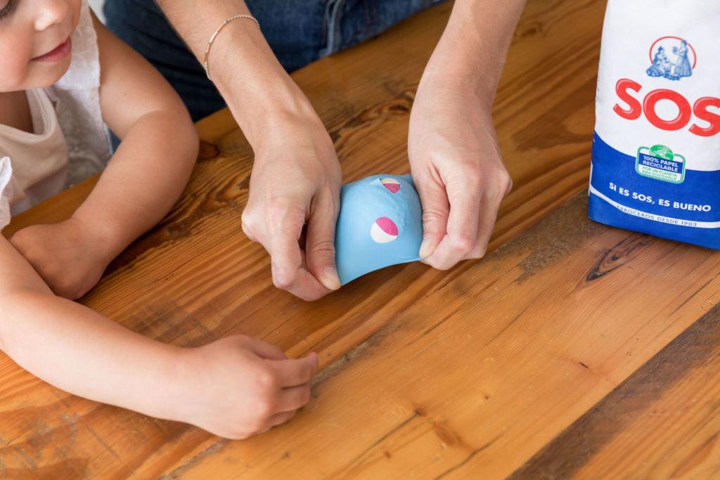 blobos pelotas malabares niños diversion familia colores ocio casa