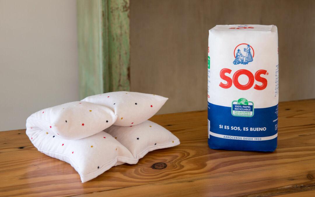 Bolsas de arroz para la relajación muscular, cervical o cualquier otra relajación