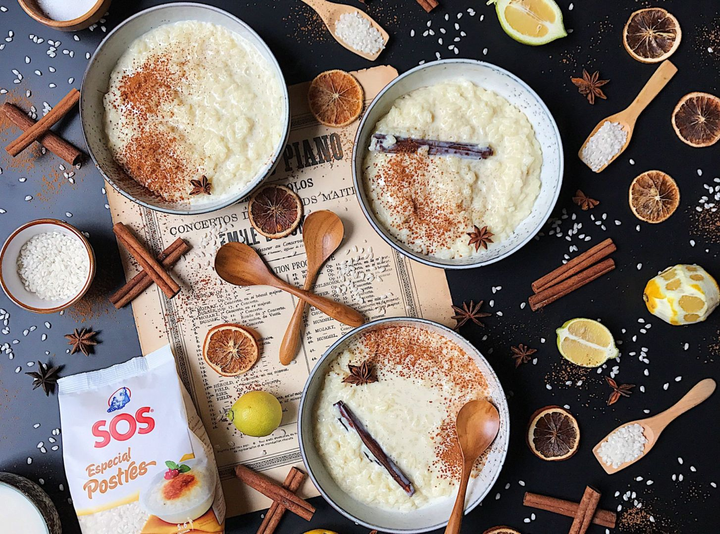 Arroz con leche casero by Laura Ponts