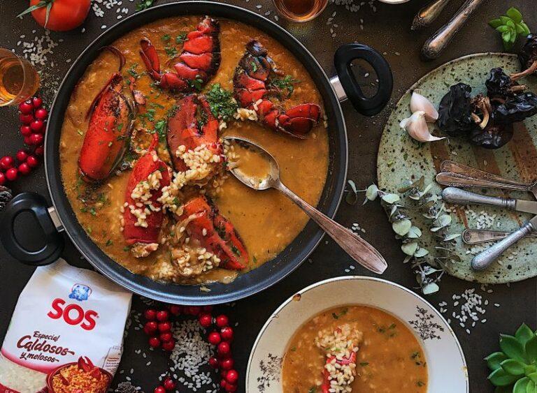 Arroz caldoso con bogavante by Laura Ponts
