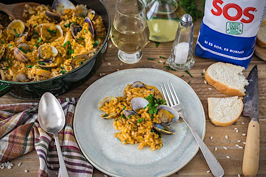 receta de arroz con almejass-loleta