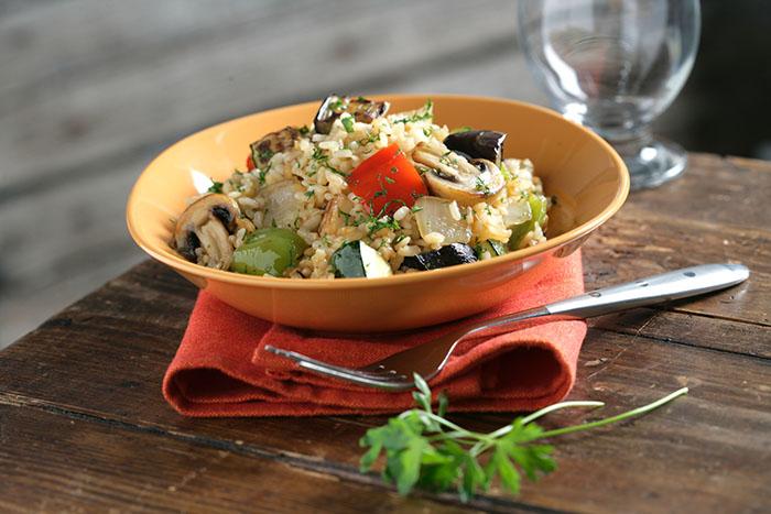 Recetas de arroz con verduras de temporada
