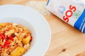 Delicioso arroz con bacalao de Rechupete