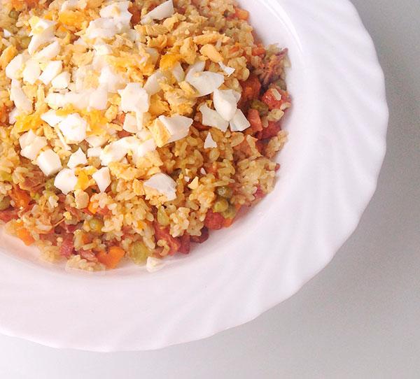 Receta de arroz de la abuela Tatá
