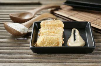 Croqueta de arroz con leche