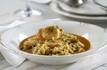 arroz caldoso con calamares