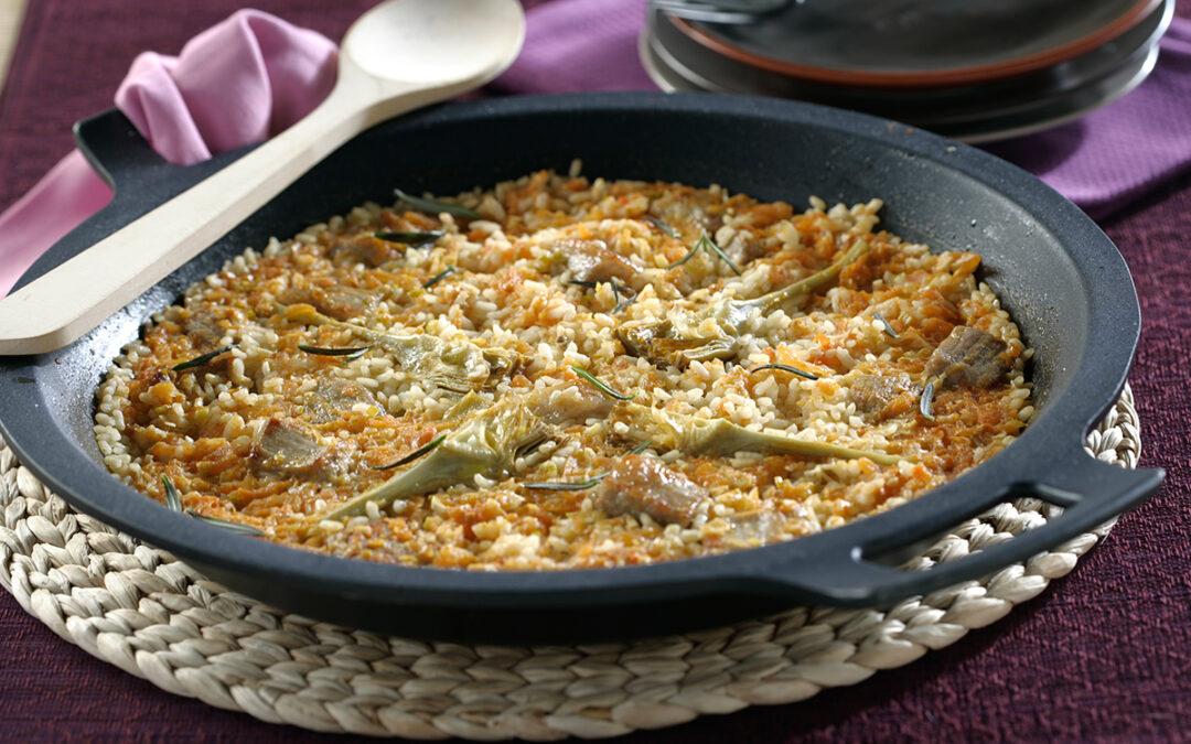 Platos tradicionales con arroz