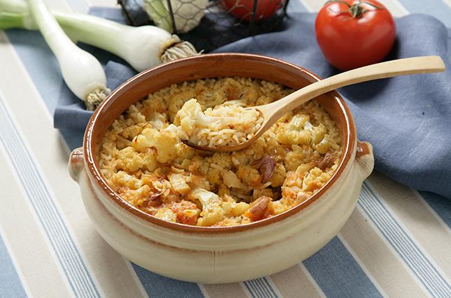 Recetas de arroz y horno