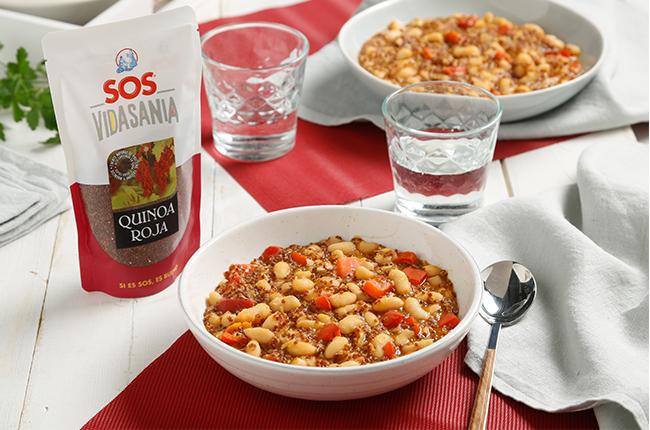 Guiso de quinoa