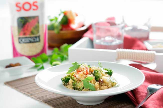 5 super recetas para cocinar con quinoa