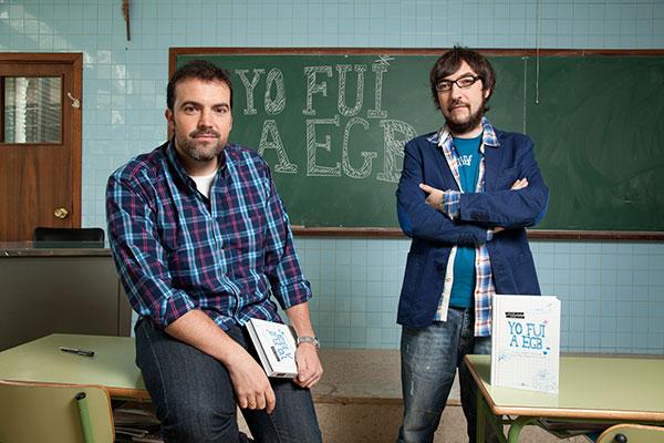Entrevista a Javier Ikaz y Jorge Díaz. Yo fui a EGB