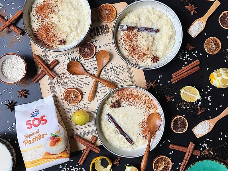 Cómo hacer arroz con leche y sorprender a todos