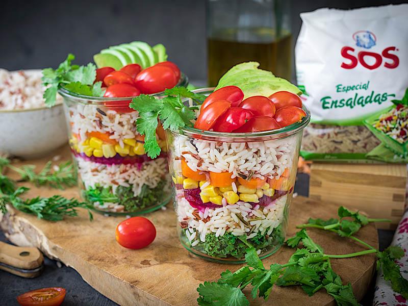 La ensalada de arroz, ideal para una dieta equilibrada