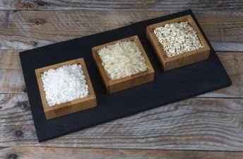 platos-con-distintas-variedades-de-arroz-redondo-integral-de-grano-largo
