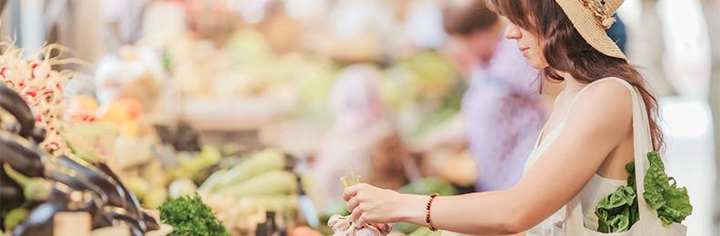 Consumir productos locales es fundamental para llevar una alimentación sostenible
