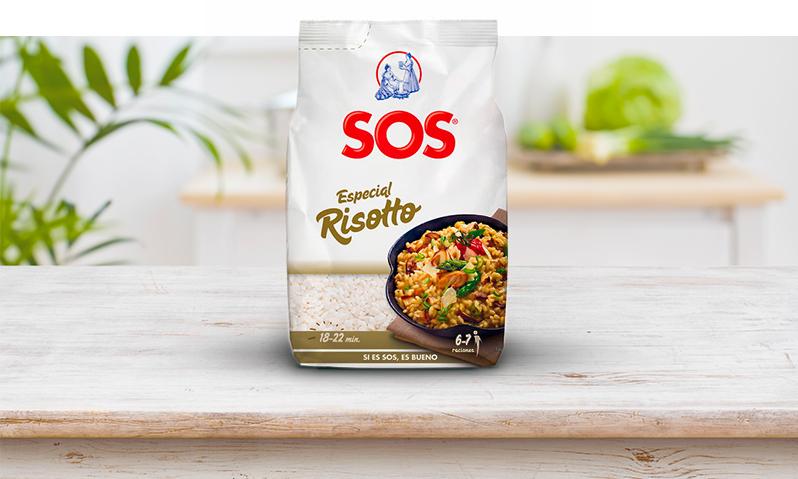 SOS Especial Risotto, ideal para este Risotto de verduras