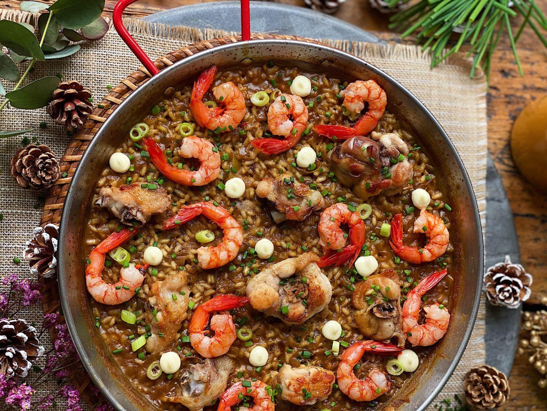 receta-de-arroz-de-aprovechamiento-con-gambas-y-pavo-de-laura-ponts