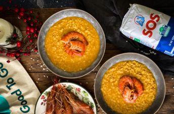receta-de-aprovechamiento-arroz-meloso-con-gambones-y-sos-redondo