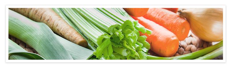 Ponemos todas las verduras en una olla